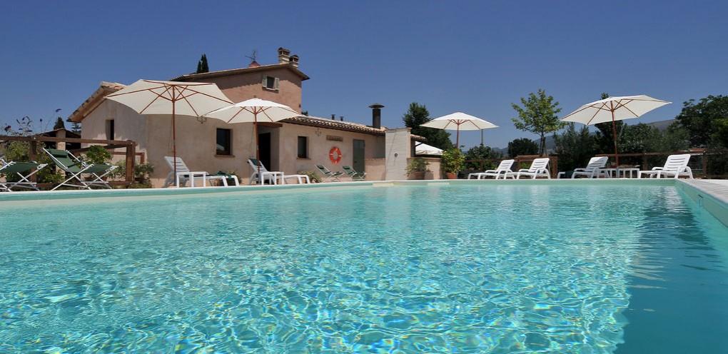 Country House piscina Umbria