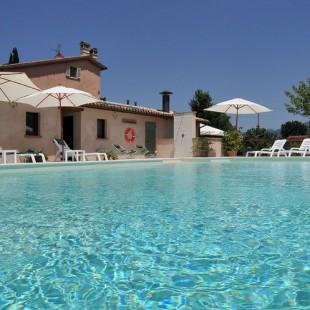Landhuis zwembad in Umbrië.