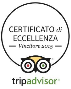 (Italiano) Certificato di Eccellenza 2015 - TripAdvisor